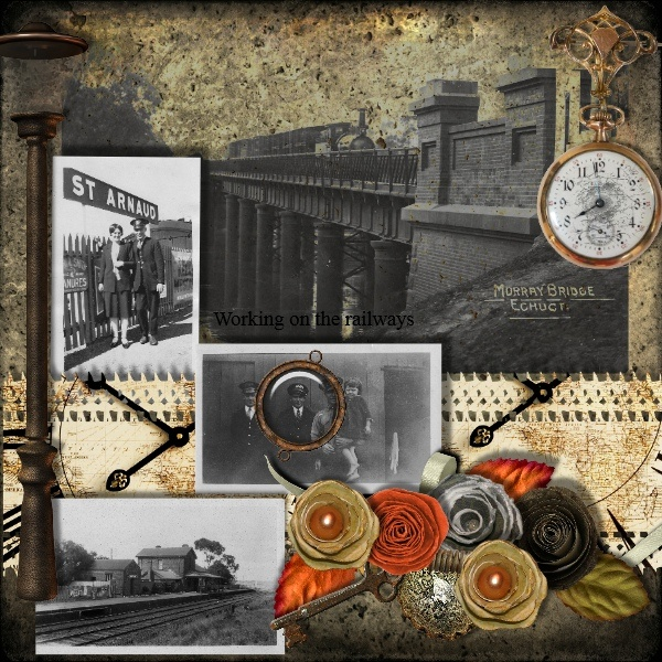 CT page for Lins Creations, Clockwork, kit available at Berry Applicious and Lollipops N Gumdrops