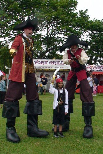 Zoot Pirate Stilt Walkers / Corporate Entertainers