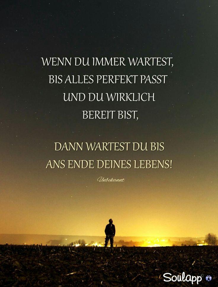 Nichts wird jemals perfekt sein...