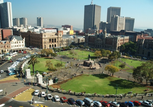 Pretoria's famous Church Square - a gallery