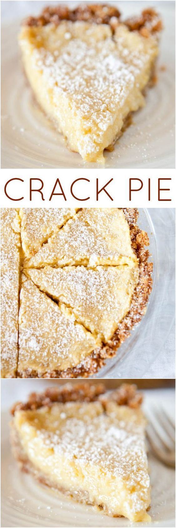 All about this crust! Use Crist for tartd  Crack Pie from the Momofoku Milkbar cookbook - There's a reason this pie has it's name. And it definitely lives up to the hype! (the pie sells for $44.00 at Momofoku's!)