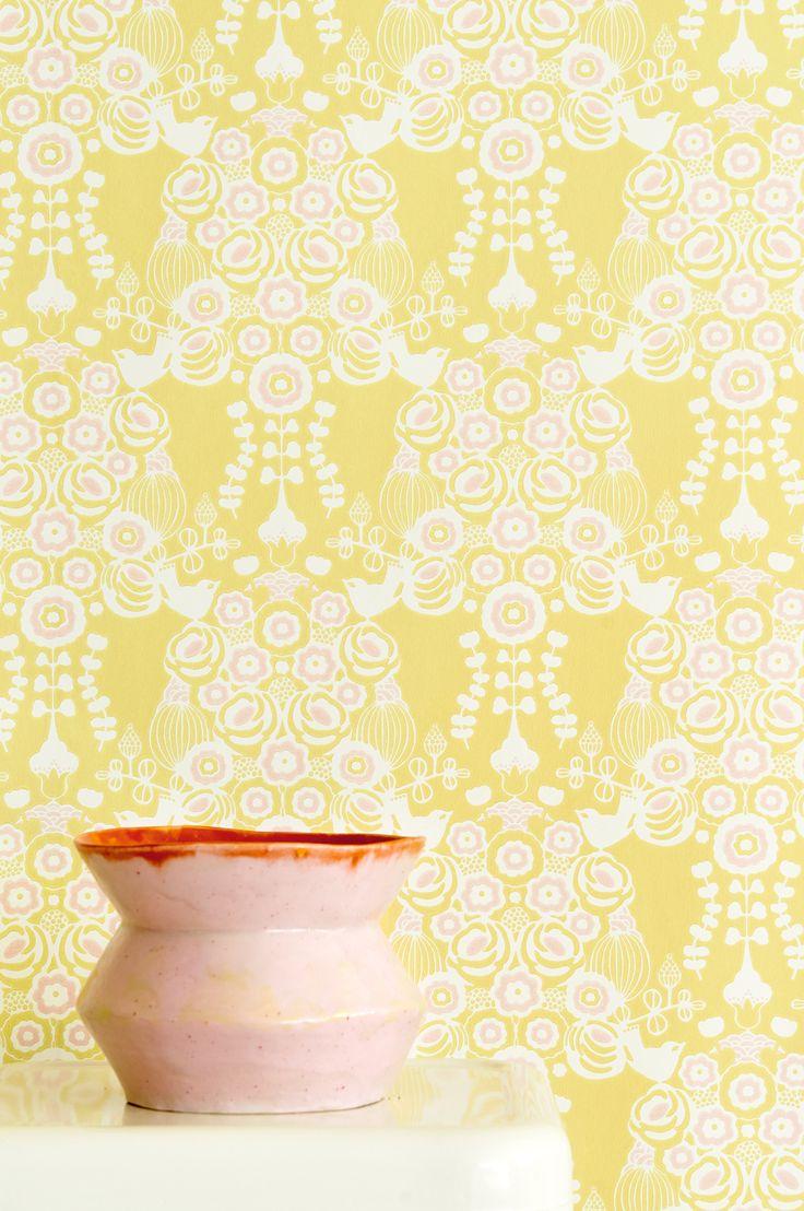 Quick up tapet Material non woven Lätt att tapetsera - Limma direkt på väggen Rullängd 10,05 m Bredd 53 cm Mönsterpassning 26,5 cm Miljövänliga & Högtvätt