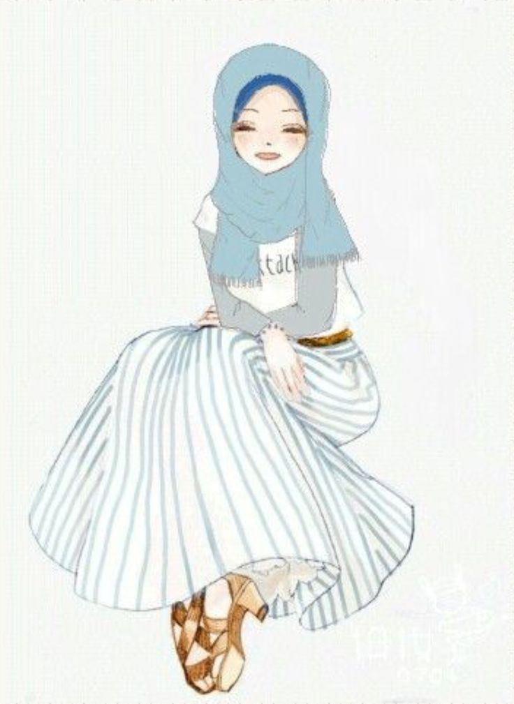 Muslimah Hijab anime