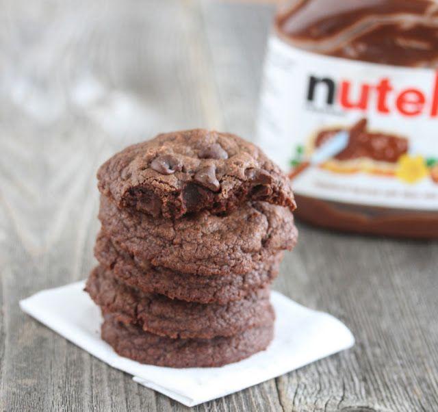 Nutella Cookies 2 | www.kirbiecravings.com