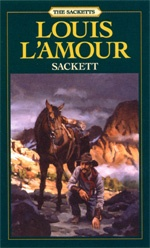 America's Storyteller - The Sackett's.   I've been reading this series by Louis L'amour only because I bought them on my kindle for my hubby. Turns out these books are great reads. I'm on about the fifth or sixth book of the series. Can see myself reading them all. :-D