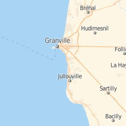 Plan La Rochelle-Normande : carte de La Rochelle-Normande (50530) et infos pratiques