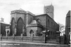 St John's Church, Town Road, Hanley, Stoke-On-Trent, Staffs. I got married here in 1981.