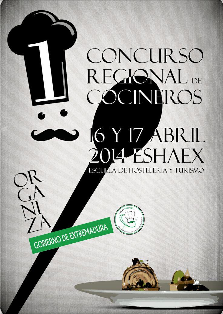 Una propuesta de cartel para un evento gastronómico.