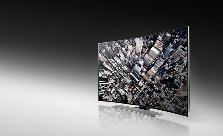 H8000 curved TV from Samsung