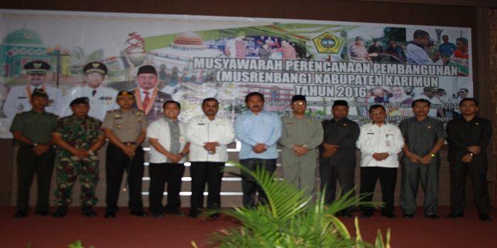 Musrenbang Kabupaten Karimun 2016