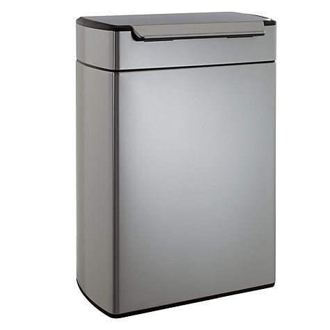 Buy simplehuman Touch Bar Recycler, 48L Online at johnlewis.com