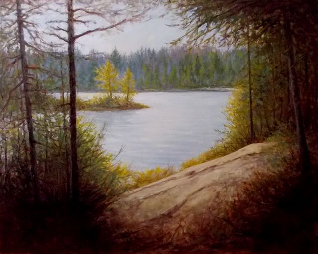"""October in Algonquin Park....24""""x 30""""...Oil Painting by Greg Hand"""