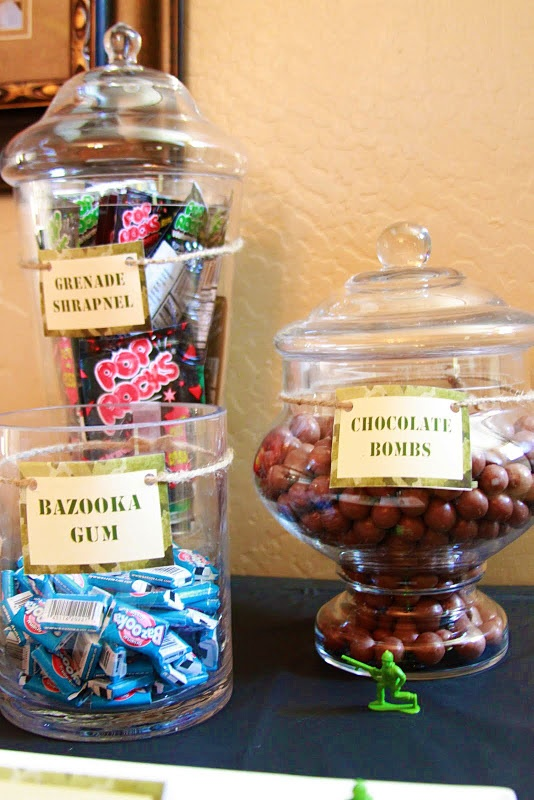 Replace Candy for Healthy snacks/ Fun cocktail drinks