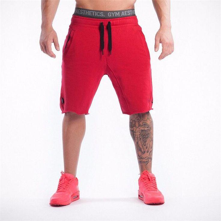 New Brand High Quality Men shorts Bodybuilding Fitness Gasp gymshark basketballRunning workout jogger shorts golds