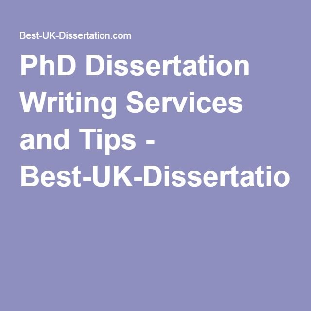 Tips for dissertation writing