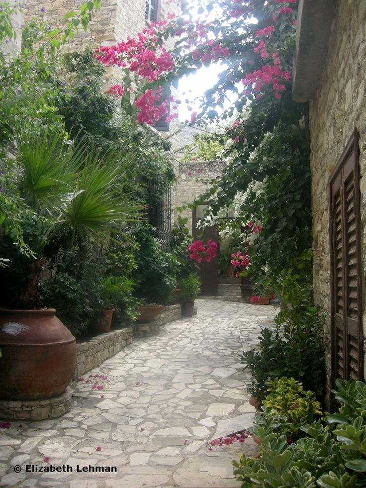 Lefkara Village in Cyprus.