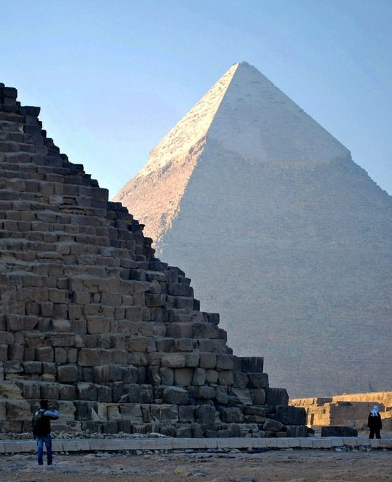 The pyramids at Giza are the most iconic, but access is limited and the crowds can get intense. An excellent alternative are the nearby Saqqara Pyramids, where you can climb inside one of the structures and wander elegantly decorated tombs.