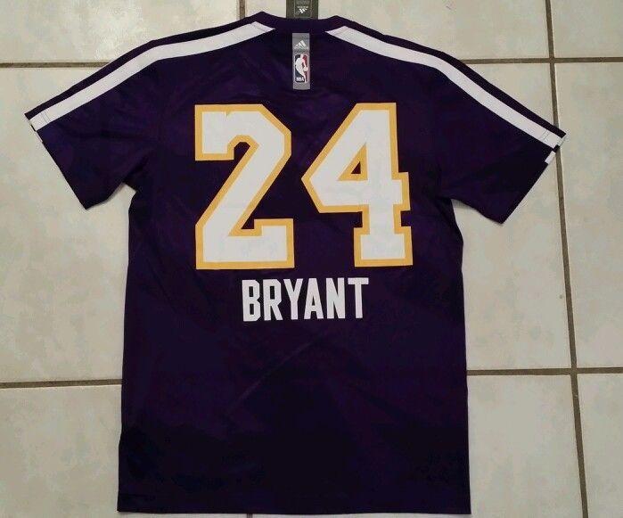 NWT ADIDAS Los Angeles Lakers Kobe Bryant  NBA  Shooting Jersey Men's Medium  #adidas #LosAngelesLakers