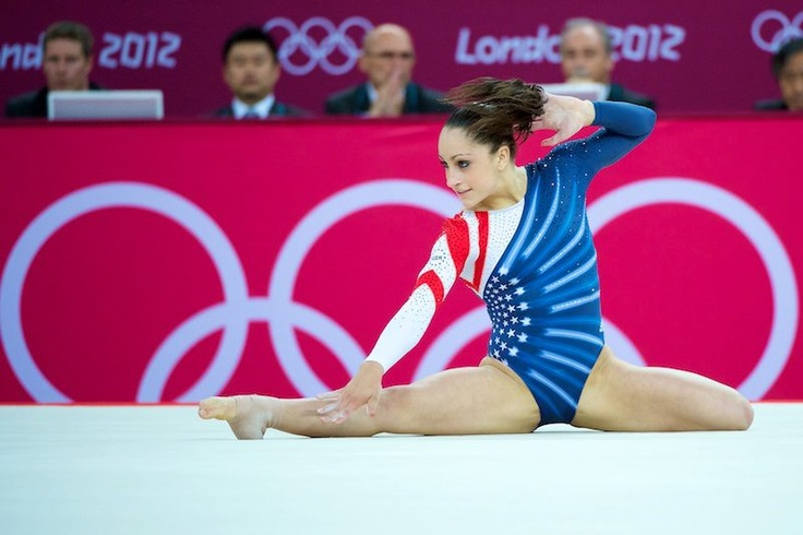 Jordyn Wieber, Floor Final London 2012 / I had to repin this. I love this routine