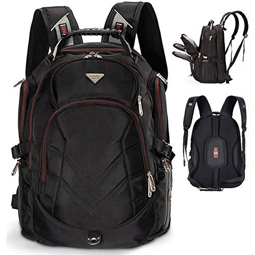 Laptop Backpack 19 Inch FreeBiz Travel Bag Knapsack Rucksack Backpacks Hiking Bags Students School Shoulder Backpack Fits up to 195 Inch Dell Asus Msi Gaming Laptops Macbook Computer Black >>> Check out this great product. Note:It is Affiliate Link to Amazon.