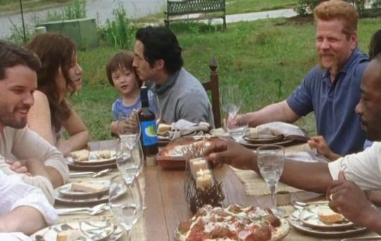 this killed me :'( Season 7 Episode 1 RIP Glenn Rhee & Sgt.Abraham Ford <3 My heart hurts.....