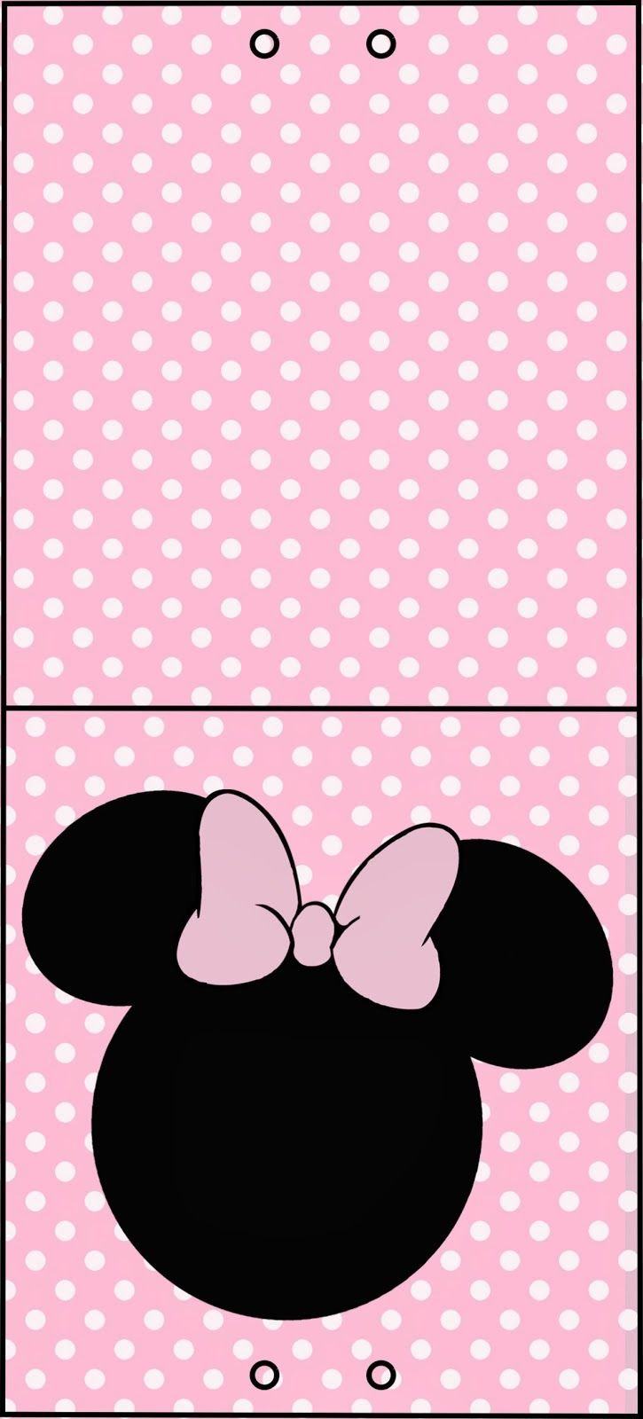 Etiquetas De Minnie Mouse Para Candy Bar