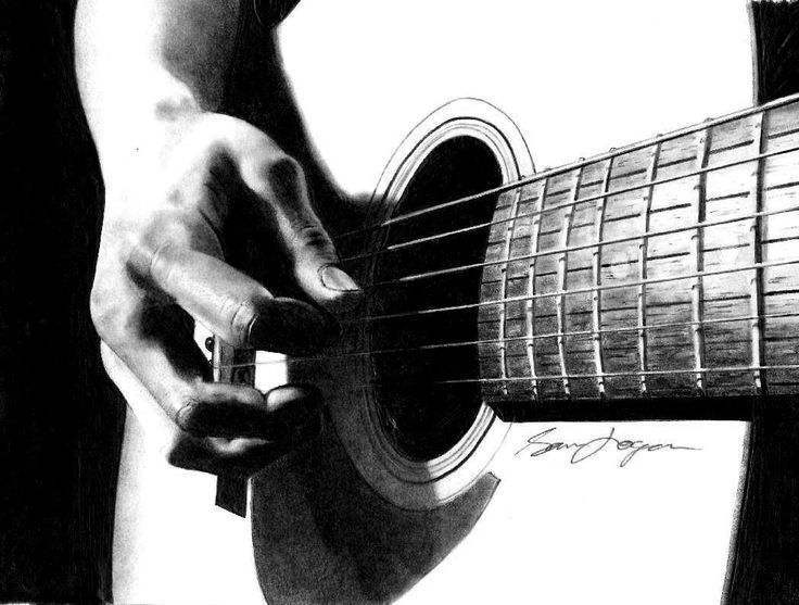 STRUMMIN' GUITAR DRAWI...