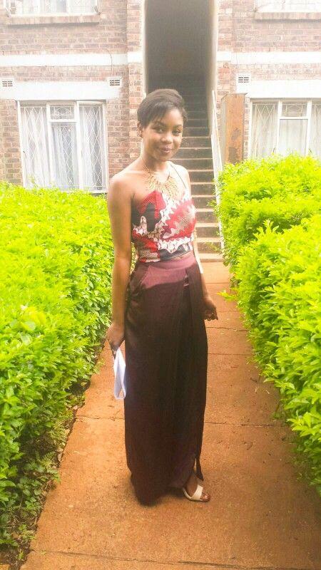 Nafuna TV Correspondent and Blogger Karen Mukwedeya Styled by Signature Toscie {Tendai Kamusikiri} NAMA 2016