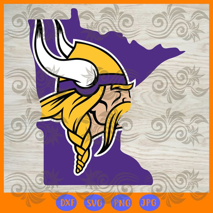 Minnesota Vikings Nfl Logo Map Svg Minnesota Vikings Svg Minnesota Vikings Logo Files For Cricut Minnesota Vikings Football Minnesota Vikings Vikings Football