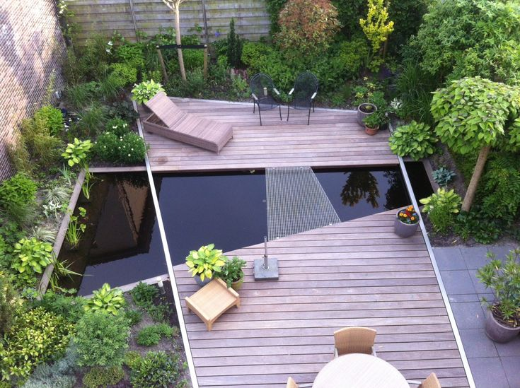 Mooi lijnenspel, van de lindeloof tuinarchitect