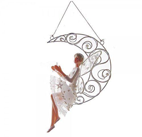 Beautiful Gisela Graham Christmas Frost Fantasy Fairy Angel on Moon Gisela Graham http://www.amazon.co.uk/dp/B016BVXRQK/ref=cm_sw_r_pi_dp_0itGwb1KCANAQ