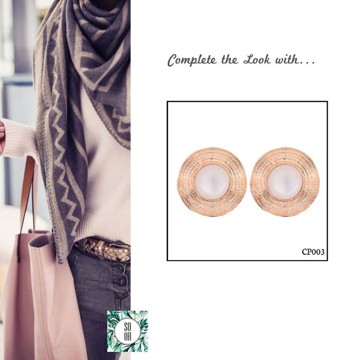 Ref: CP003 Medidas: 2 cm x 2 cm  So Oh: 5.99 #sooh_store #onlinestore #brincos #earrings #fashion #shoponline #inspiration #styleinspiration #aw2016 #aw1617 #winter #style