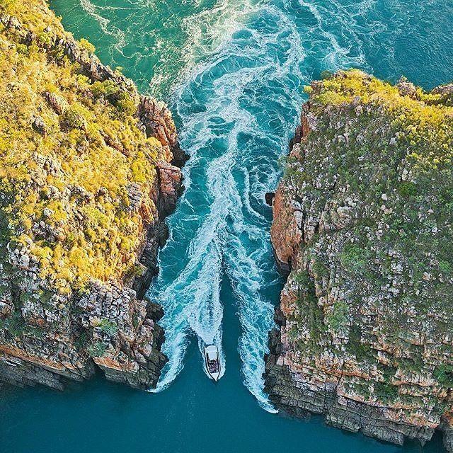 Horizontal Waterfalls - The Kimberley, Western Australia