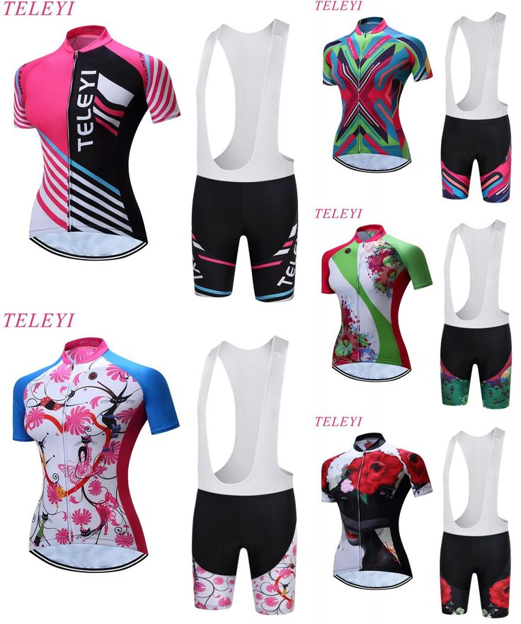 [Visit to Buy] teleyi Women's dot printed sublimation cycling clothing short sleeves cycling shirts trajes de ciclismo raiders jersey #Advertisement