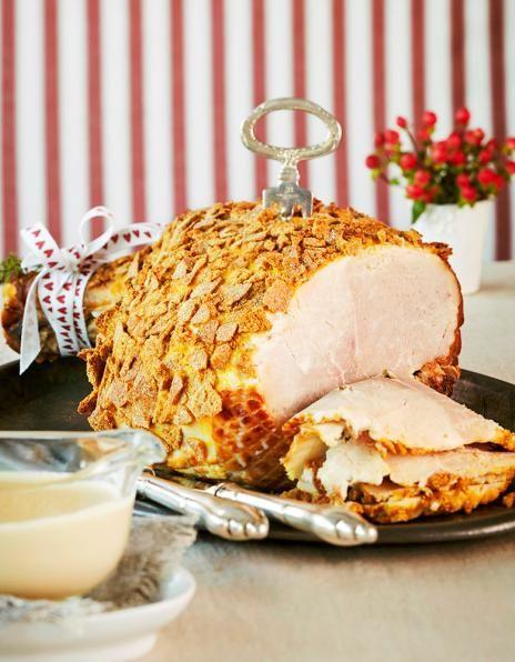 Jaloviinalla maustettu kermakastike antaa uutta potkua perinteiselle joulukinkulle.