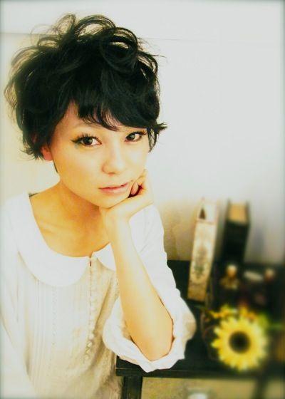 黒髪のショートヘア特集♡パーマver. MERY [メリー]