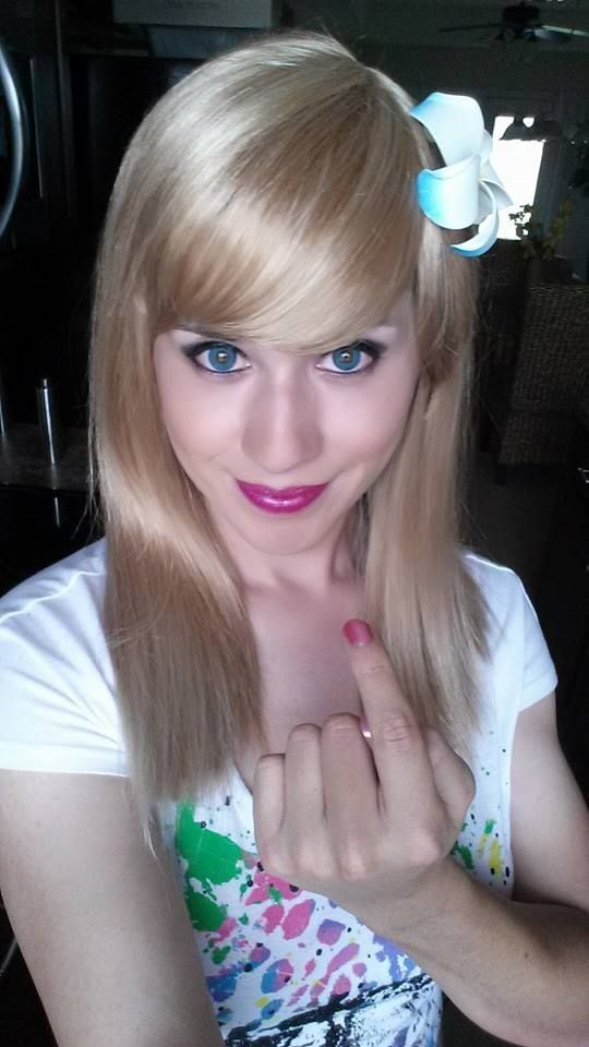Sweet and pretty tgurl Paige James