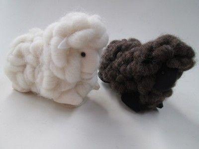 Loopy Wool Lamb 11cm - rozcraft.com