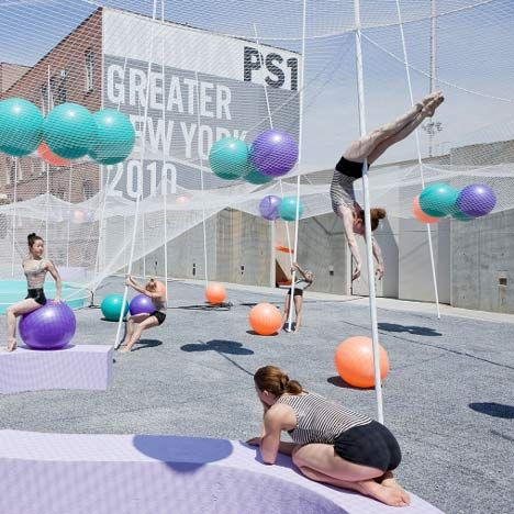 Oh I wish I lived in NY to go to this!! an amazing playground. Pole dance. SO-IL. PS1.