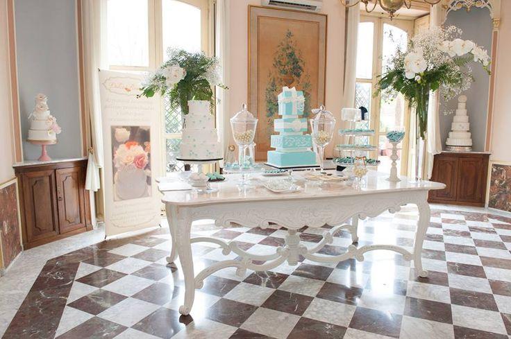 Mesa dulce de Dulce Roseta// Sweet table. Foto: Estudionce Organización: Señor y señora de #bodassrysrade www.señoryseñorade.com