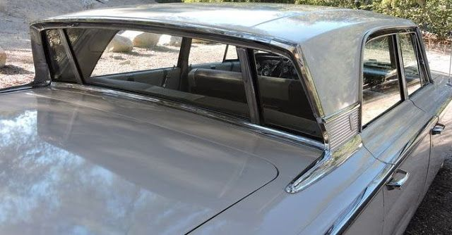 """Just A Car Guy: Was the """"breezeway"""" power back window a slick aero aid to the Mercury Nascar racers?"""