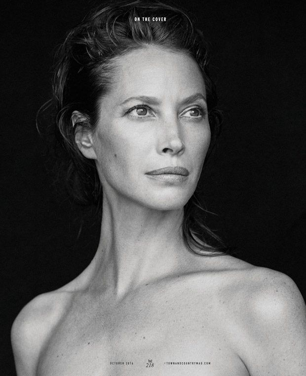Supermodel Christy Turlington Covers Town and Country 170th Anniversary Issue