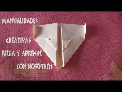 Avión de papel con 150 metros de vuelo - YouTube
