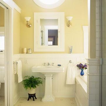 White Wainscoting In Bathroom Bathrooms Pinterest