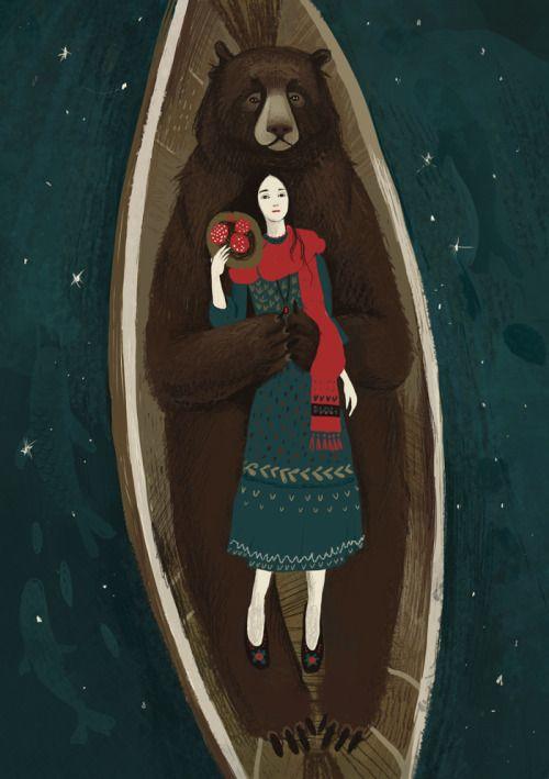 Illustration, Printmaking and Animation by Alexandra Dvornikova