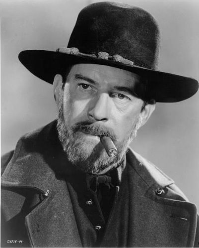 """Harry Morgan as Ulysses S. Grant in """"How the West Was Won"""""""