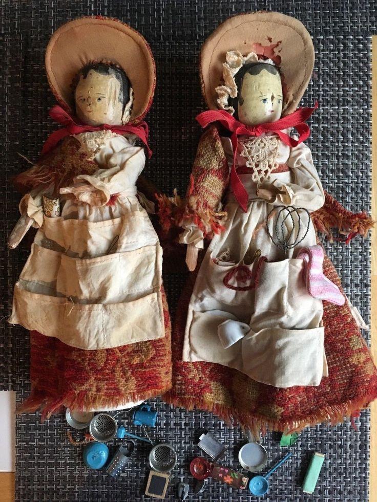 картинки старинная кукла из чурочки аву спины сделать