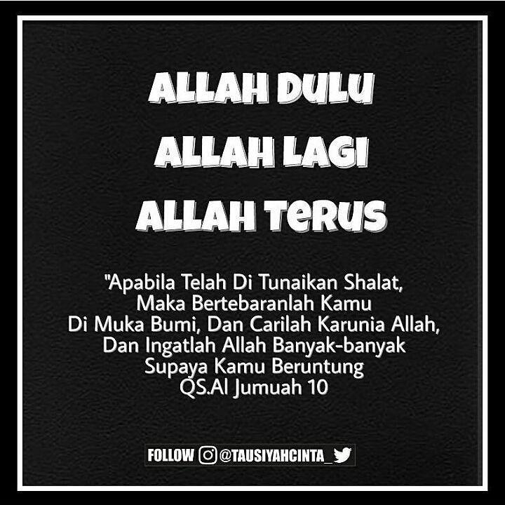 """Hanyalah kepada Allah kami berlindung dan berserah diri .  Mari sahabat dukung dan sebarkan opini dakwah dari page ini.  Semoga bisa menjadi amal sholih untuk kita bersama. Aamiin Allahumma Aamiin . ........................................ Follow @FiqihWanitaID Follow @FiqihWanitaID Follow @FiqihWanitaID  #Untuk #Muslimah #Indonesia  F I Q I H W A N I T A  .  Jazakumullahu khairan katsiron  Rasulullah Shallallahu 'alaihi wasallam bersabda """"Barangsiapa yang menunjukkan kepada sebuah kebaikan…"""