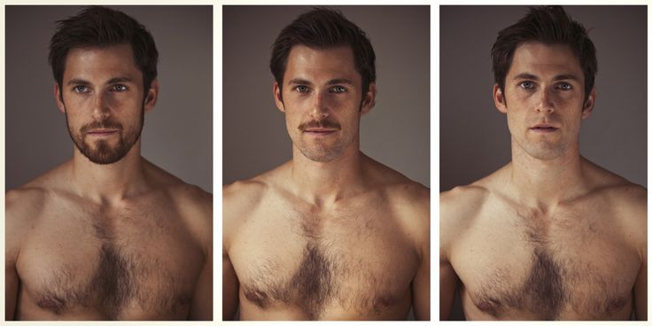 """See? beards make you hotter. And mustaches make you uglier. science at"