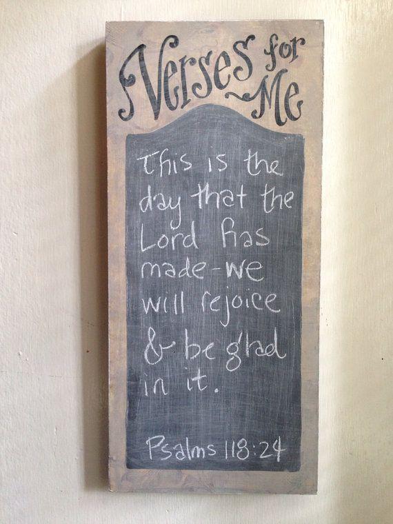 Verse of the Week Chalkboard - verses for me